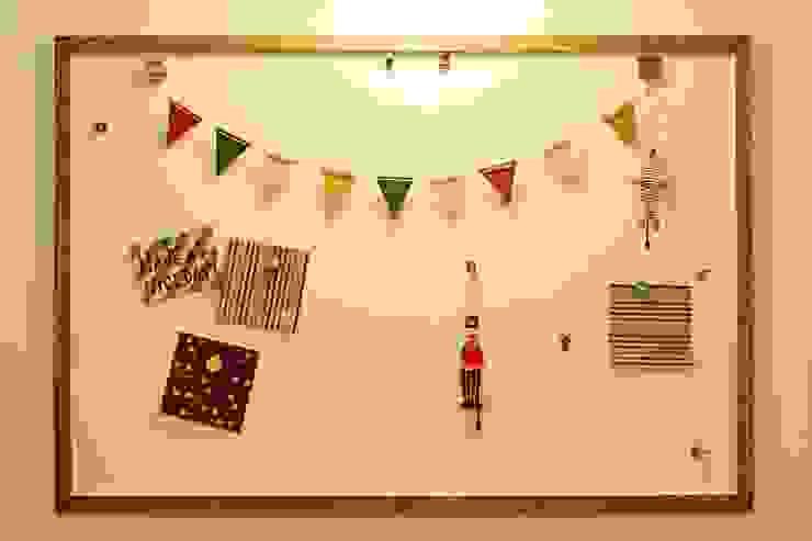 お気に入りマグネットボード - 子育てをコンセプトにした住まい「育みの家」 北欧デザインの 子供部屋 の ジャストの家 北欧