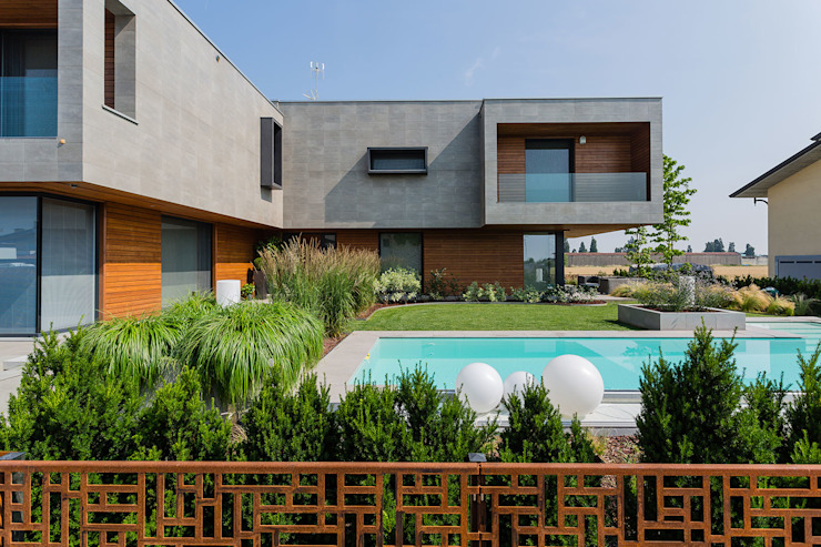 Villas by Marlegno, Modern Wood Wood effect