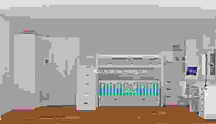 Ece'nin Odası Modern Çocuk Odası MOBİLYADA MODA Modern Ahşap Ahşap rengi