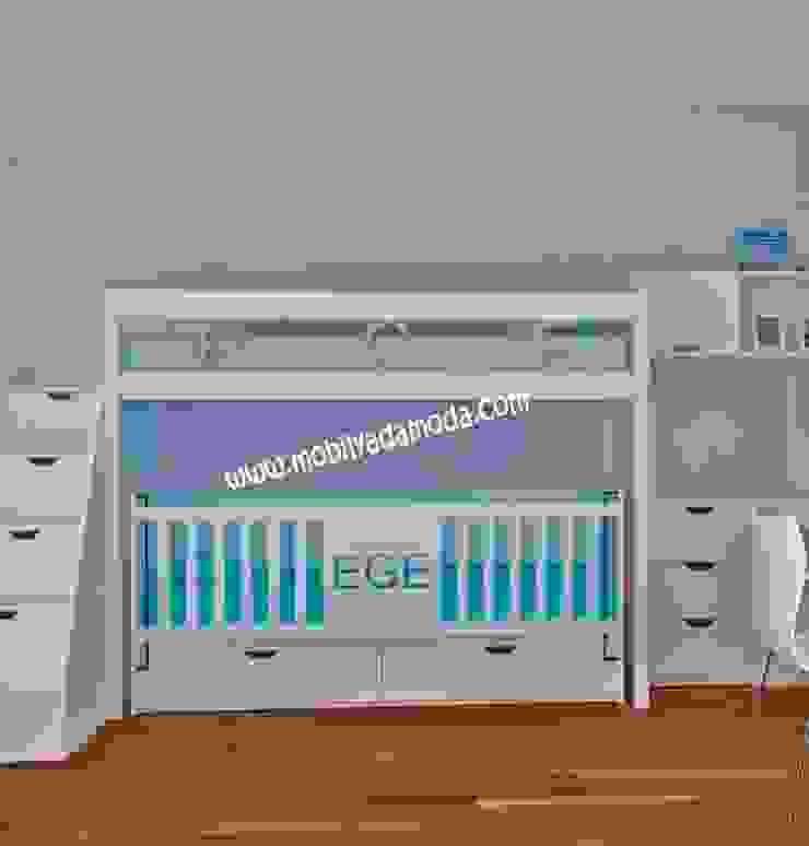 Ece'nin Ranzası Modern Çocuk Odası MOBİLYADA MODA Modern Ahşap Ahşap rengi