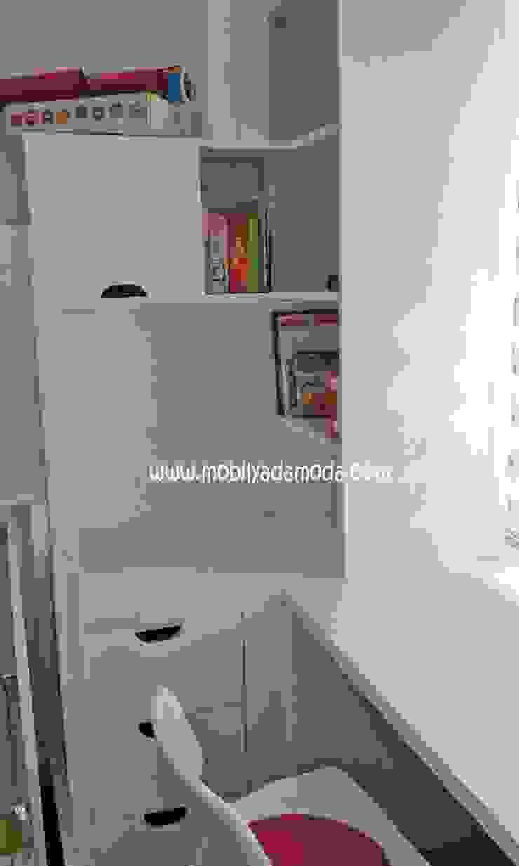 Ece'nin Kitaplığı Modern Çocuk Odası MOBİLYADA MODA Modern Ahşap Ahşap rengi