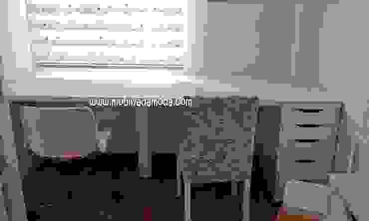 Ece'nin çalışma masası Modern Çocuk Odası MOBİLYADA MODA Modern Ahşap Ahşap rengi