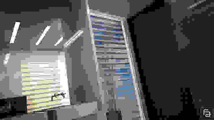 Moradia Funchal Casas de banho modernas por Espaço FA – Arquitetura, Interiores e Decoração Moderno