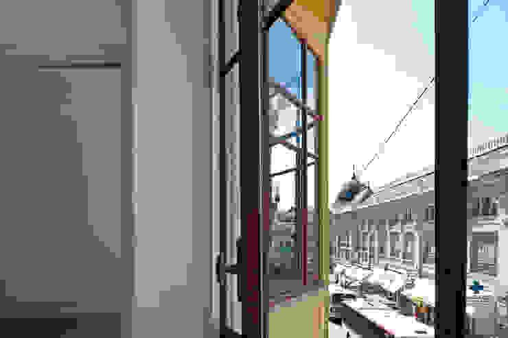 Reabilitação de edifício de 1923-1928 da autoria do Arquitecto Marques da Silva por Nuno Valentim, Arquitectura e Reabilitação
