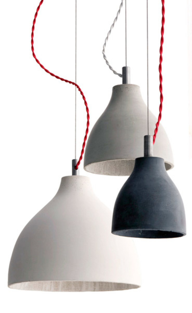 Concrete heavy desk/table/appartment/ceiling lamp Betoniu GmbH Multimedia roomElectronics