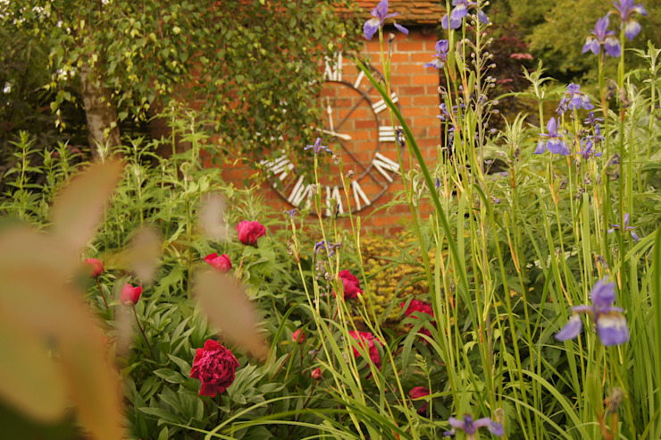English Country Garden Jardin rustique par Yorkshire Gardens Rustique