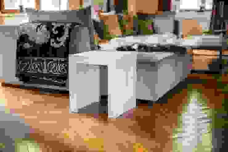 Concrete bench seat Betoniu GmbH Interior landscaping