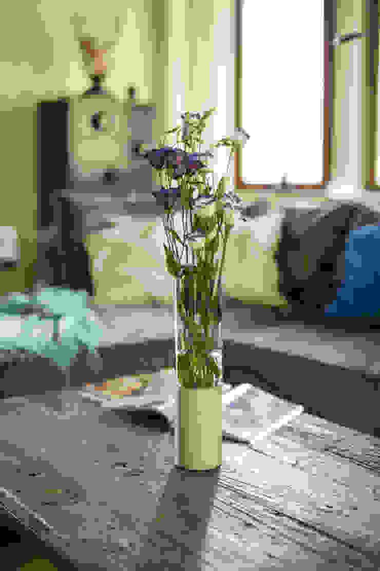 Concrete flower vase (high) Betoniu GmbH Living roomAccessories & decoration