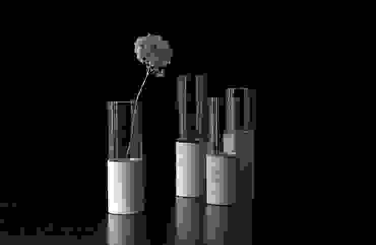 """Concrete vase """"Tara"""" Betoniu GmbH Balconies, verandas & terraces Accessories & decoration"""