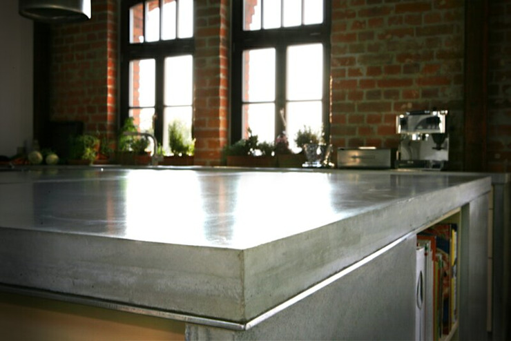 Individual concrete kitchens Betoniu GmbH KitchenTables & chairs