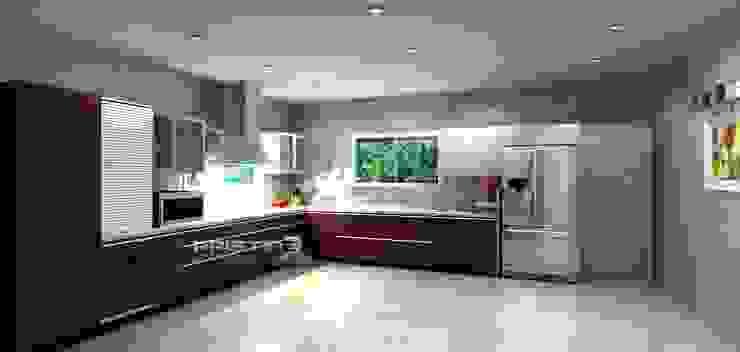 3D kitchen Designs Modern kitchen by Pristine Kitchen Modern