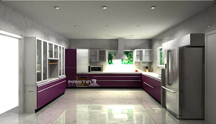 by Pristine Kitchen Сучасний