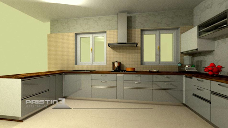 3D kitchen Designs Modern kitchen by Pristine Kitchen Modern