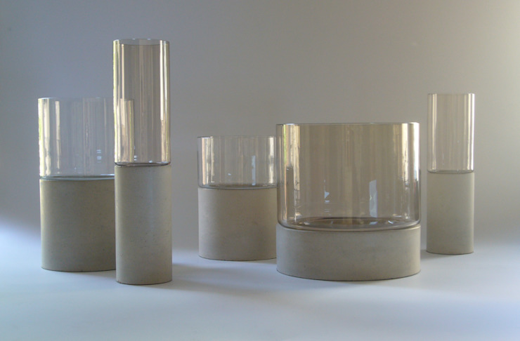 "Concrete vase ""Tara"" Betoniu GmbH Living roomAccessories & decoration"