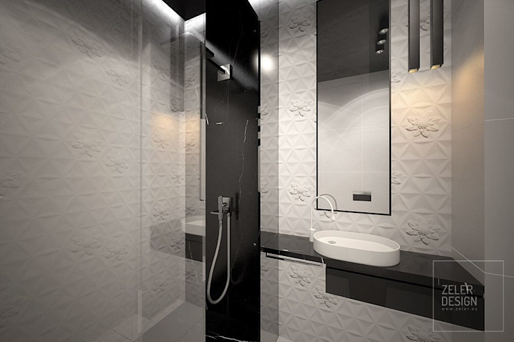 bathroom visualization - part two od Zeler Design