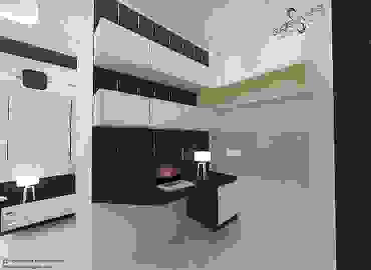 Modern study/office by homify Modern