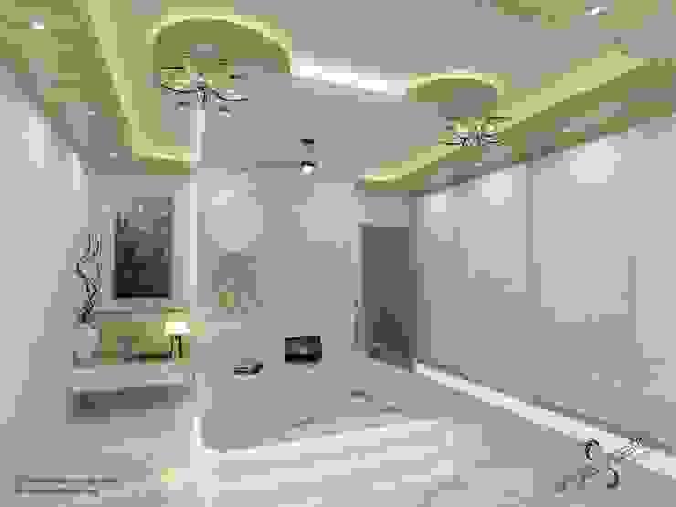 Kamar Tidur Modern Oleh single pencil architects & interior designers Modern