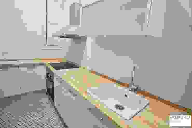 Proyecto Vivienda Ensanche Valencia Cocinas de estilo clásico de ARQUITECNICA RUZAFA Clásico