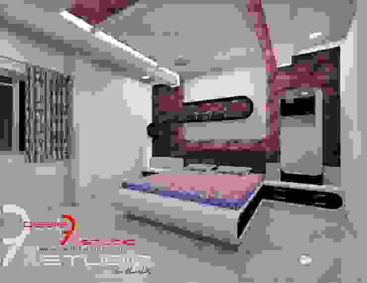 Bedroom designs Modern style bedroom by Desig9x Studio Modern