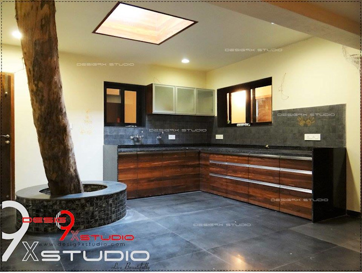 Kitchen and Dining area designs Modern kitchen by Desig9x Studio Modern