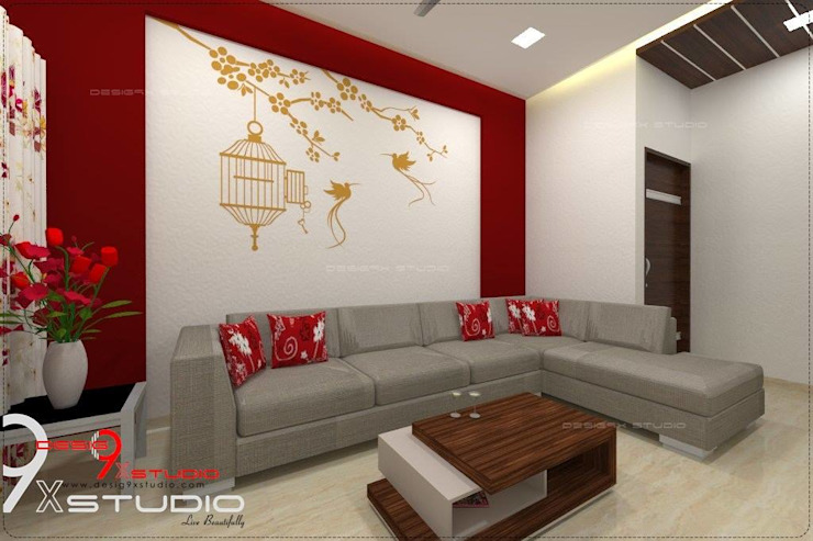 Living Area Designs Modern living room by Desig9x Studio Modern