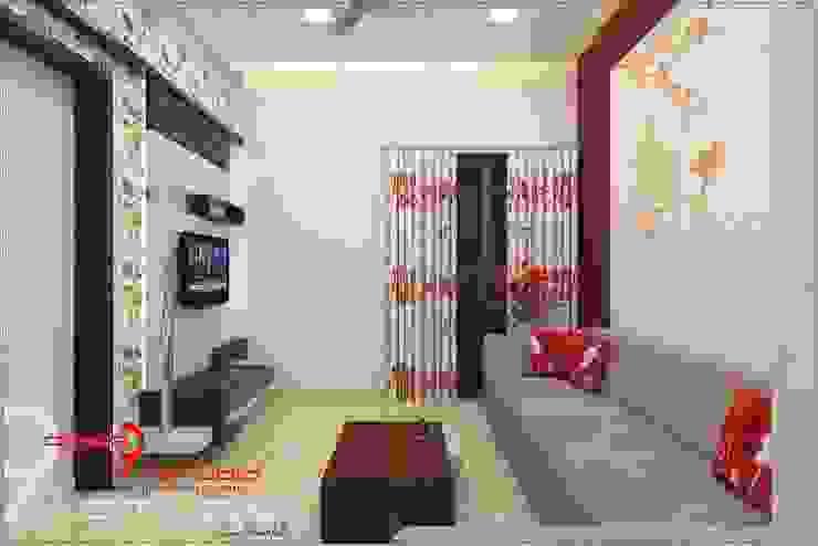 Salas de estar modernas por Desig9x Studio Moderno