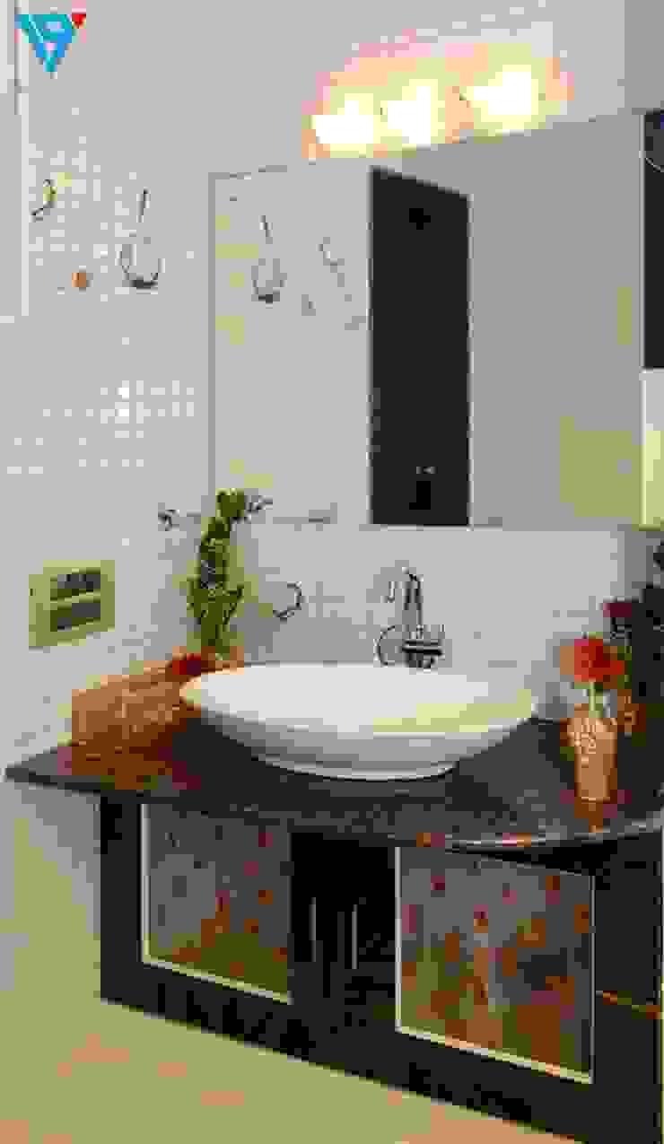 現代浴室設計點子、靈感&圖片 根據 V9 - the interior studio 現代風