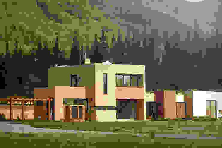 Nowoczesne domy od Kubik Lab Nowoczesny
