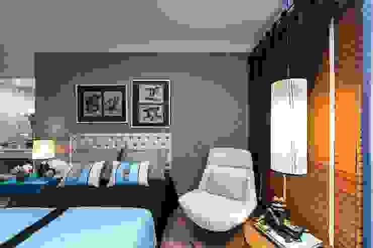 Camera da letto moderna di Giovana Carvalho Arquitetura e Interiores Moderno