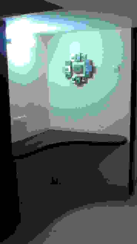 Miyapur Apartment Modern living room by wynall interiors Modern