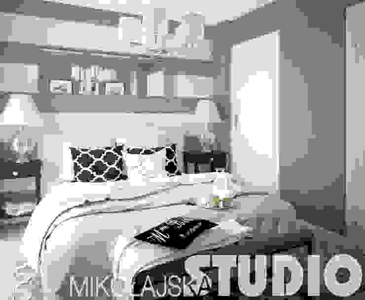 glamour-bedroom od MIKOŁAJSKAstudio