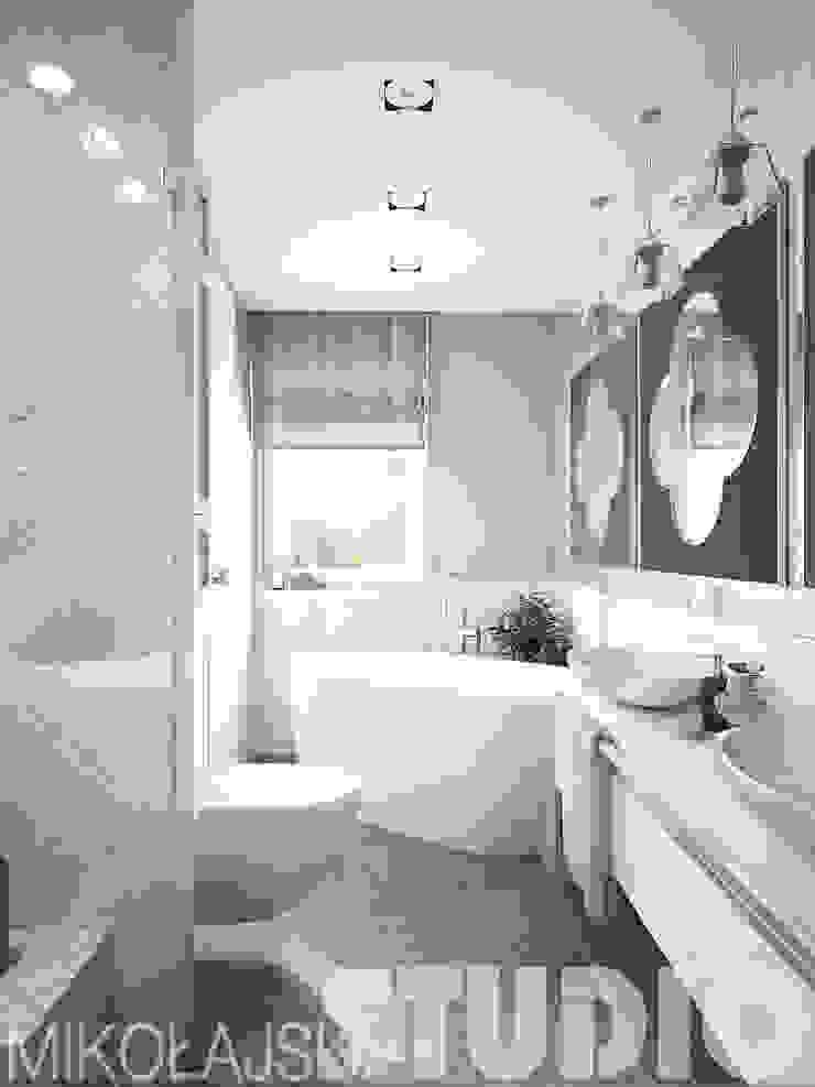 łazienka w stylu arabskim od MIKOŁAJSKAstudio