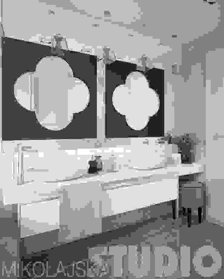 salon kąpielowy-glamour od MIKOŁAJSKAstudio