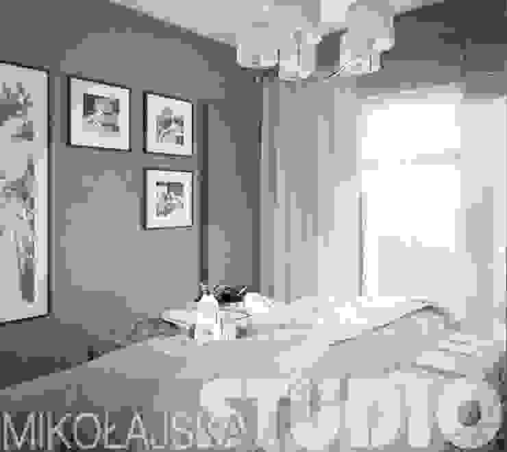 sypialnia-glamour od MIKOŁAJSKAstudio