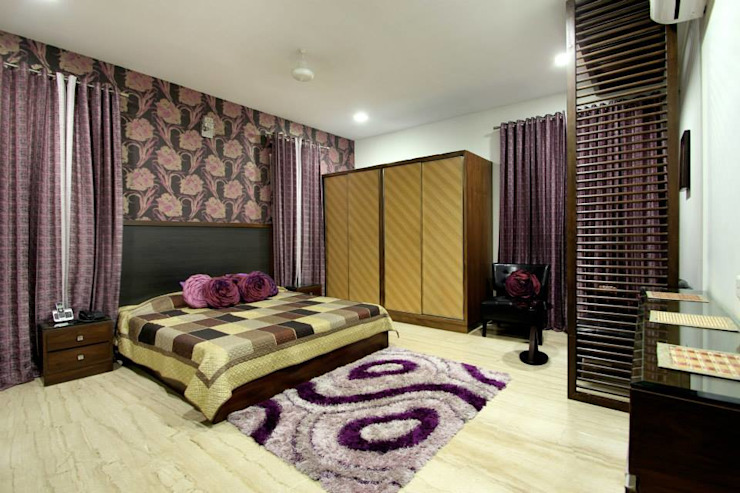 Villa Project Modern style bedroom by Bansal Interiors Modern