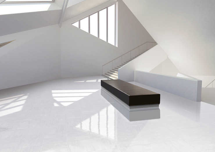 CERAMICHE BRENNERO SPA Modern corridor, hallway & stairs Ceramic