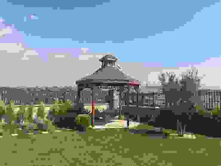 TOSKANA VADİSİ- VİLLA PEYZAJ PROJE&UYGULAMA // TOSKANA VADISI - VILLA LANDSCAPE PROJECT&APPLICATION AYTÜL TEMİZ LANDSCAPE DESIGN Modern Bahçe