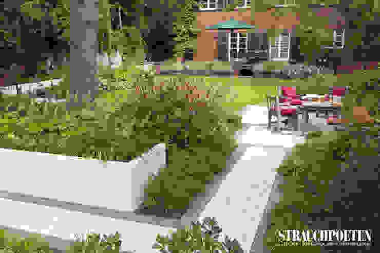 Modern style gardens by Strauchpoeten Modern Concrete