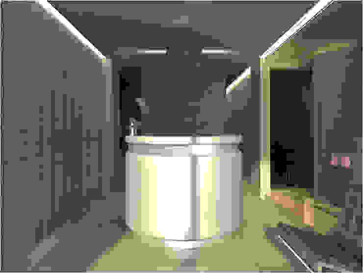 SD Cabeleireiro Lojas e Espaços comerciais modernos por Joana Neto | Interiores Moderno