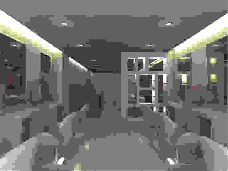 SD Cabeleireiro Espaços comerciais modernos por Joana Neto | Interiores Moderno