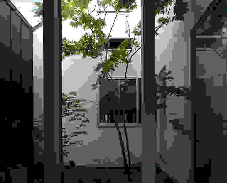 C-HOUSE モダンな庭 の 株式会社長野聖二建築設計處 モダン