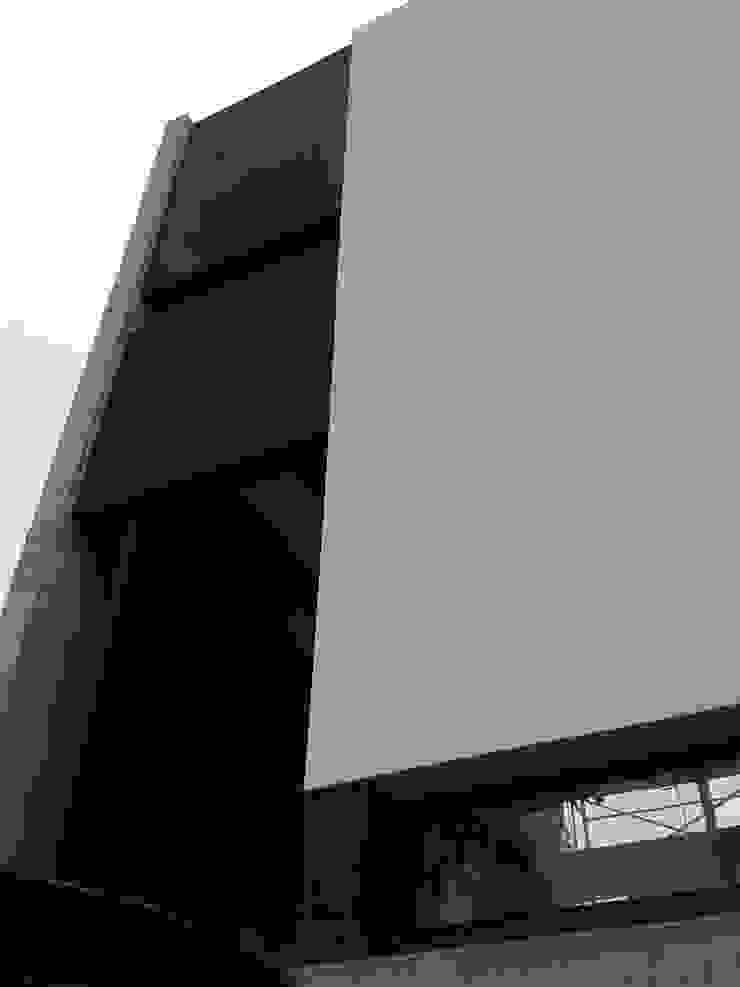 Puerta principal pivotante. Puertas y ventanas minimalistas de jose m zamora ARQ Minimalista Metal