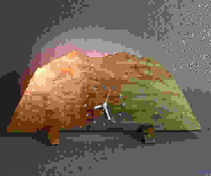 3190: アトリエ1が手掛けた折衷的なです。,オリジナル 木 木目調