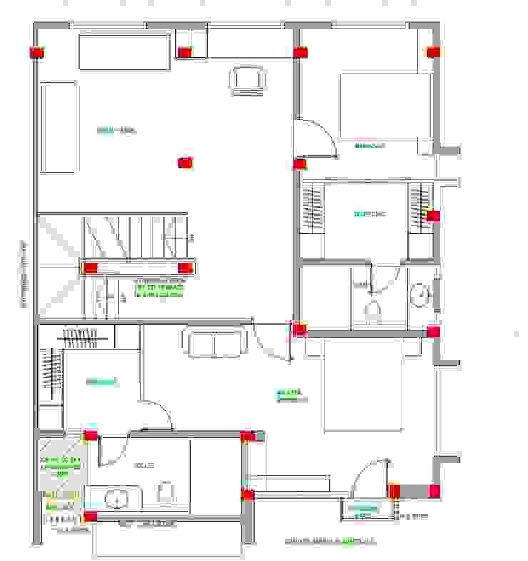 MEHTA HOUSE: modern  by SYNTHESIS DMC Pvt Ltd,Modern