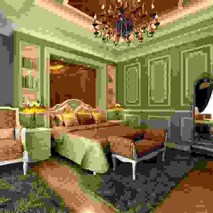 Klasik Yatak Odası homify Klasik