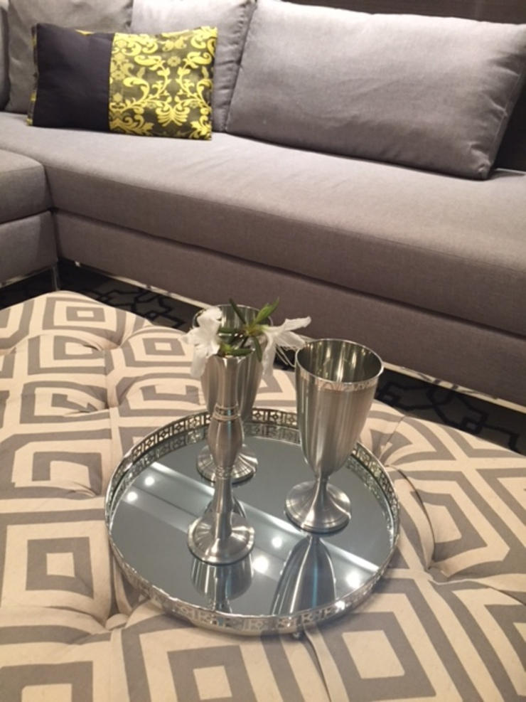 Puff Salas de estar modernas por Padoveze Interiores Moderno