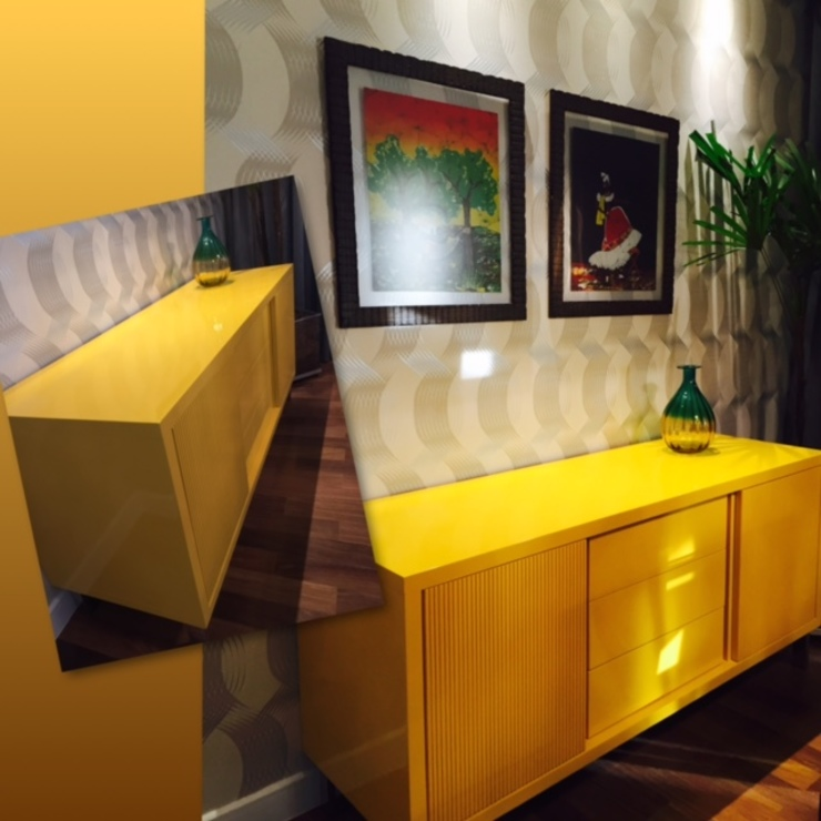 Sala de Jantar Salas de jantar modernas por Padoveze Interiores Moderno