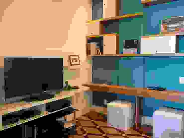 Modern Media Room by homify Modern