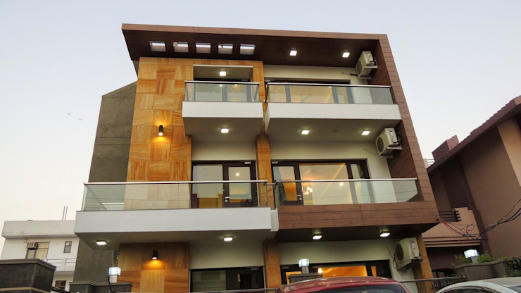 Modern Houses by INXUS Constructions Modern