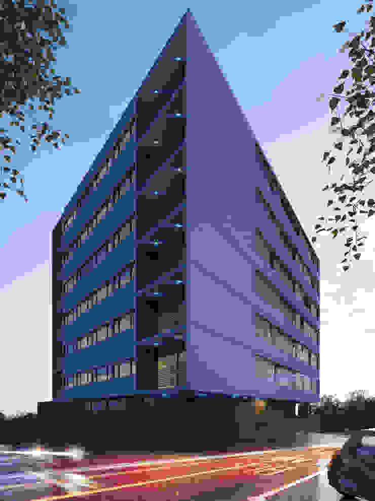 Edificio Chrestia Casas modernas: Ideas, imágenes y decoración de D+D Studio Moderno